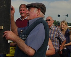 Prices (Simon Corble) Tags: autumn rural countryside locals character traditional racing september event annual spectators races sporting staffordshire countrylife funinthesun bookmaker longnor manifoldvalley lookingon staffordshiremoorlands ruralevent longnorraces chalkingtheodds checkingtheprices