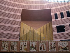 Cathdrale de la Rsurrection (1995), Evry (91) (Yvette Gauthier) Tags: architecture cathdrale brique 1995 91 mariobotta essonne vry cathdraledelarsurrection