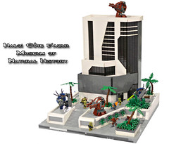 Lego Halo: Cote d'Azur Museum of Natural History (TRLegosfan) Tags: building history fall museum lego natural sigma halo reach iv the octanus