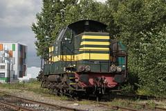 OSR 8211 (ex SNCB) Strasbourg Port du Rhin 19-09-2014 (Alex Leroy) Tags: ex port du strasbourg osr rhin sncb 8211 19092014