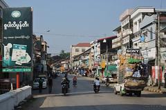 Mawlamyine, Myanmar (-AX-) Tags: burma myanmar pancarte mawlamyine btimentimmeuble
