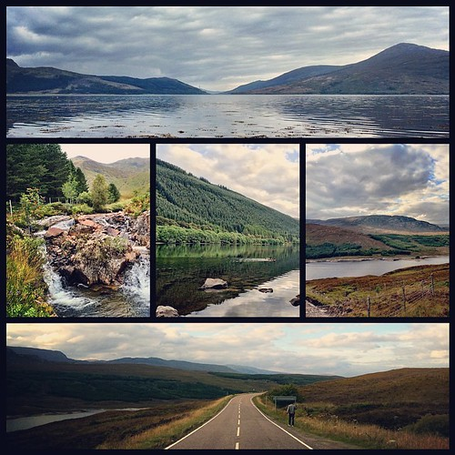 Across the Highlands #scotland #highlands (Home of Bond)