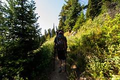 Grand Teton Climb (Paradox Sports)-110 (wstrathmann1) Tags: trip usa mountain outdoors climb nationalpark hike wyoming teton grandteton 2014 exum tetonnationalpark exumguides paradoxsports willstrathmann