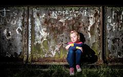 In the spotlight (David Raynham) Tags: portrait girl fuji flash daughter ocf speedlight x20 strobe offcameraflash strobist