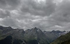 gloomy clouds (in-dependence) Tags: mountain berg clouds canon austria sterreich hiking threatening wolken independence wandern bedrohlich bergkette nicobabilon