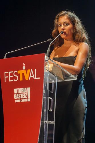 Hiba Abouk en el FesTVal 2014