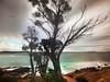 Welding Glass - Moruya Headland (caralan393) Tags: blur weather movement wind weldingglass
