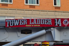 FDNY Tower Ladder 14 (Triborough) Tags: nyc newyorkcity ny newyork harlem manhattan firetruck fireengine ladder eastharlem fdny seagrave newyorkcounty towerladder newyorkcityfiredepartment ladder14 towerladder14