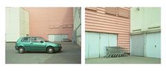 *** (dzarro72) Tags: door urban texture film car wall mediumformat golf volkswagen 645 warsaw cart fujicolor bronicaetrsi pro160ns epsonv500 zenzanon7528pe