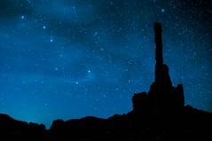A Night in Monument Valley (fenicephoto) Tags: arizona totempole navajo monumentvalley navajonationalmonument totempolerock