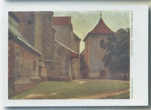 plac kościelny szydłowieckiej fary