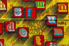 Letters on a wall DSC_6352.jpg (Sav's Photo Gallery) Tags: street city uk streetart abstract london graffiti artist cityscape colours capital letters wallart shoreditch graffit bricklane d7000 savash