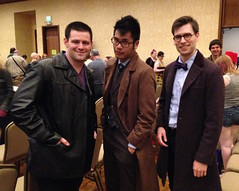 Anglicon 2015 (Solarbird) Tags: cosplay doctorwho sortof thethreedoctors anglicon anglicon2015