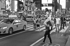 Hitching a ride (timnutt) Tags: street newyork nyc usa unitedstates people timessquare
