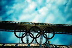 Thames River Cruise (somekeepsakes) Tags: 2012 agfactprecisa100 lca london towerbridge analog analogue crossprocessed england europa europe film fluss lomo londonolympics olympia olympicgames river thames themse uk xpro