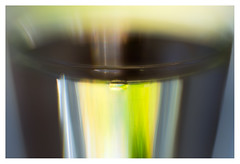 Clinging to the glass (leo.roos) Tags: glass water waterdrop glas waterdruppel oktoberfest2016 challenge dyxum soft glowing ethereal dreamy velvety lensbabyvelvet5616 emount a7 darosa leoroos