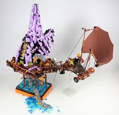 """alien lands - kraken1 (""""kofi"""") Tags: alienlands lego foitsop kraken octopus"""