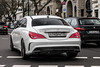 Russia (Moscow) - Mercedes-Benz CLA 45 AMG C117 (PrincepsLS) Tags: russia russian license plate 777 moscow germany berlin spotting mercedesbenz cla 45 amg c117