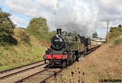 IMG_6131 (lesleydoubleday) Tags: gcr greatcentralrailway woodthorpe steam steamloco ivatt2 standard2