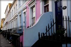 Notting hill (mimu81) Tags: london londra unitedkingdom english british england nottinghill street colours tourist walking house