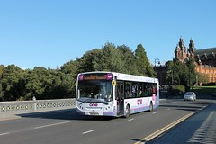 First Glasgow - SN62 AFK (67727) (MSE062) Tags: first glasgow enviro 300 e300 alexander dennis adl single decker bus low floor scotland sn62afk sn62 afk 67727 dumbarton