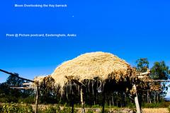 Hay-Barrack (prem swaroop) Tags: aptourism artist araku easterghats prem vizagcityguide visakhapatnam haybarrack clouds scenery bluesky clearsky hay hut village church hilltop