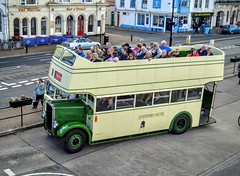 Southern Vectis (PD3.) Tags: southern vectis 703 ddl50 ddl 50 bristol ecw k5g open top topper topless isle wight iow bus buses hampshire hants england uk ryde