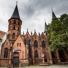 Stiftskirche - The Collegiate Church, Kaiserslautern Germany (Les_Williams) Tags: stiftskirche germany kaiserslautern