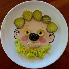 Face Plate (ricko) Tags: plate face pickles olives peanut blackberry peperoncini food werehere 340366 2016
