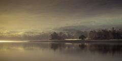 Loch Eil (Roksoff) Tags: locheil lochaber scottishhighlands scotland autumn sunrise mist mood trees water atmosphere calm reflection landscape nikond810 nikond800 70200mmf28 leefilters