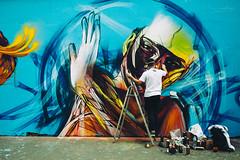 {movement} (Audrey Meffray) Tags: paris hiphop graffiti street streetart paint painting portrait canon canon6d sigma35mm14art sigma 35mm 35art lavillette