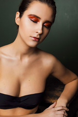 Beauty photosession (springkabo) Tags: girls girl woman photosession photoshoot beauty beautiful studio makeup colors moscow portrait