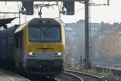 Gand-Gent-Dampoort Alstom Série 13 SNCB 1335 (DiL Photos) Tags: infrabel croissrail sncb am96 bombardier alstom siemens vectron traxx class66 desiro am08 type 13 fret hkm cargo