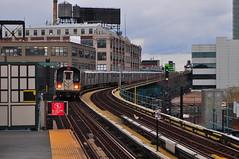7 Train Court Square (Triborough) Tags: ny nyc lic newyork newyorkcity queenscounty queens longislandcity nycsubway subway elevated 7train mta nycta nyct newyorkcitytransit r188