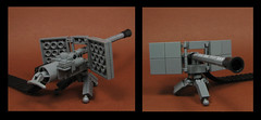 Heavy Machine gun (Karf Oohlu) Tags: lego moc gun weapon machinegun heavymachinegun