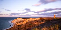 Gay Head Lighthouse (Ruahine Tramper) Tags: usa unitedstatesofamerica lighthouse sunset nd110 longexposure cloud sea marthasvineyard