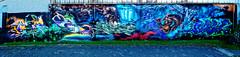 Artists: Apot, Dieno, Aves, Agil, Masterreims, Houl  (MCR-Crew) (pharoahsax) Tags: graffiti mainzkastel mainz kastel wb pmbvw bw hessen süden deutschland kunst art streetart street urban urbanart paint graff wall germany artist legal mural painter painting peinture spraycan spray writer writing artwork tag tags worldgetcolors world get colors apot dieno aves agil masterreims houl mcr