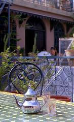Thé à la menthe (Loodoveeca) Tags: zenit122 analog 35mm film kodakcolorplus 200iso marrakech marocco thé tea mint