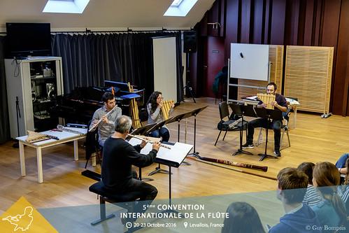 Projection des instruments de musique d'Amérique Latine dans la création musicale actuelle - Ensemble Antara du Chili