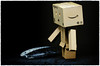 Danbo and the Fossil (Stephen Reed) Tags: fossil danbo wally ministudio d7000 nikon sigma colorefexpro4 lightroomcc