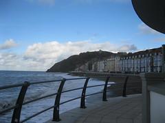 Aberystwyth Bandstand (golygfa) Tags: wales aberystwyth promenade sea bandstand