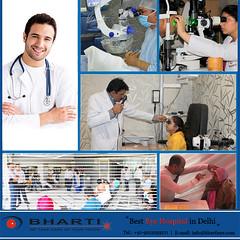 Treatment to cure their eye problem & improve eyesight. (bhartieye) Tags: bharti eye care hospital foundation eyecare