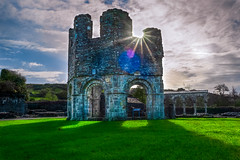 Mellifont Abbey (Ailís Ní hÉgeartaigh) Tags: abbey church churches religion christian christianity ireland irish norman europe european world earth sony sonya7 a7 architecture old historic history zeiss za landscape land colour colorful clouds sky outdoor outside