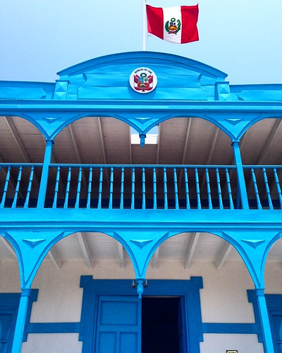 Réplica Casa de la Respuesta en el Real Felipe - Callao, Perú