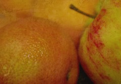 fruit bowl  341/366 (horsesqueezing) Tags: 366the2016edition 3662016 day341366 6dec16 orange apple texture