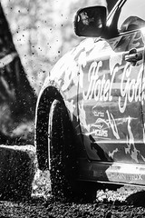 Subaru in the mud (z.dorighi) Tags: rally action water splash drops subaru impreza poland mud