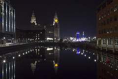 The Royal Liver Building (N-woods) Tags: theroyal liverbuilding liverpool reflections nightphotography
