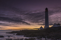 Scurdie Ness Lighthouse (adamcaird) Tags: canon sigma 7dmkii montrose morning sunrise seascape coast landscape colourful colour water lighthouse sky outdoor clouds motion scotland seaside