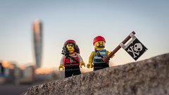 The Pirates are coming... in Malm (Reiterlied) Tags: 18 35mm d500 dslr lego legography lens malm minifig minifigure nikon photography pirate prime reiterlied stuckinplastic sweden toy
