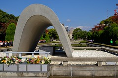 Hiroshima Memorial (burnt dirt) Tags: japan asian japanese atomicbomb memorial hiroshima